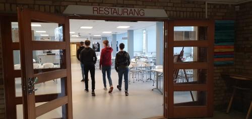 Helenaskolans matsal i Skövde