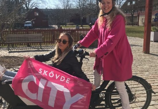 Skövde cityförening cykelbud