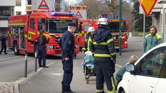 Bilolycka centrala Skövde