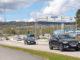 Trafik vid Nolhagarondellen och Stora Coop Skövde