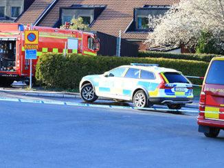 Bilbrand, Barkvägen, Södra Ryd i Skövde