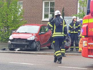 Trafikolycka, Varnhemsgatan, Skövde