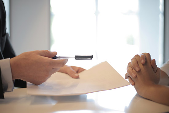 avtal kontrakt konsument