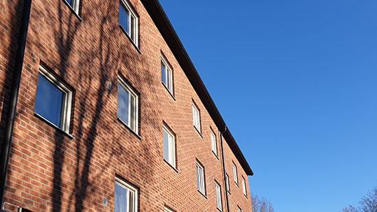 Storegårdens bostadsområde i Skövde