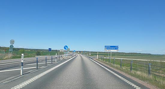 RV 26 mellan Skövde och Mariestad