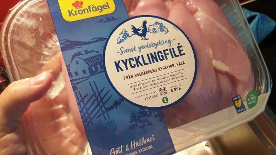Kycklingfilé