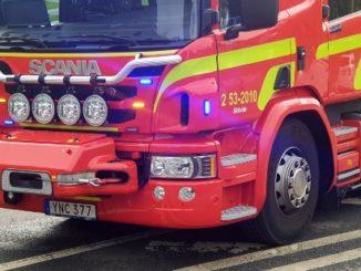 Brandbil, Räddningstjänst Östra Skaraborg Skövde