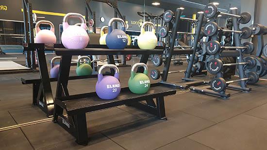 Nordic Wellness gym vid Elins Esplanad i Skövde