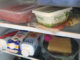 kylskåp med matvaror