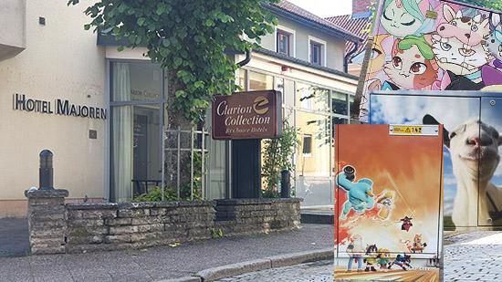 Montage Clarion Collection Hotell Majoren och elskåp