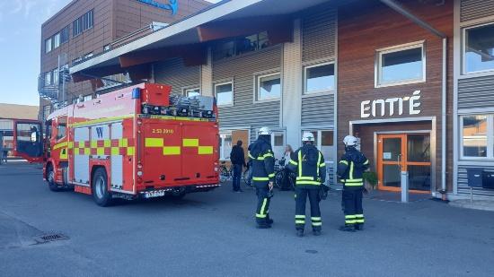 Brandlarm vid Raoul Wallenbergskolan i Skövde