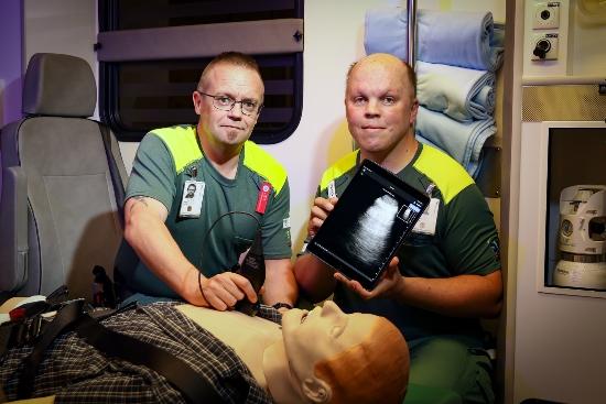 Ambulanspersonal vid Skaraborgs Sjukhus
