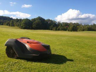 Skövde Golfklubb, robotgräsklippare