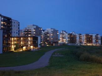Frostalidens bostadsområde i Skövde