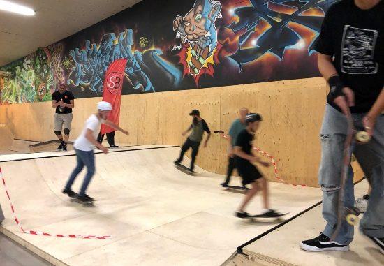 Skövde skateboardförenings skatehall