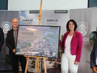 Startskott på Mariesjö - Skövde Science City