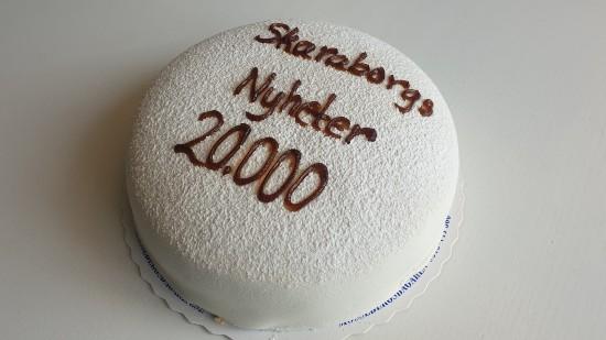 Skaraborgs Nyheter tårta