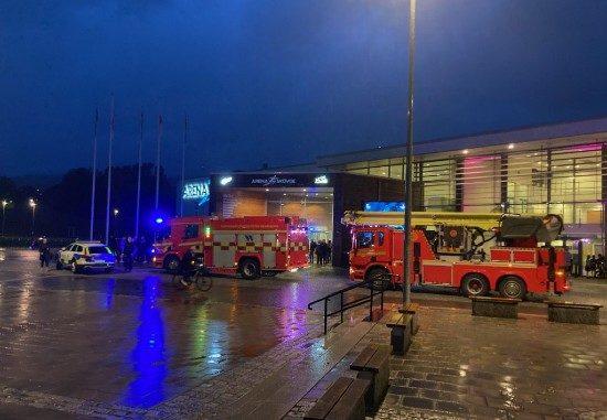 Arena Skövde - brandkår