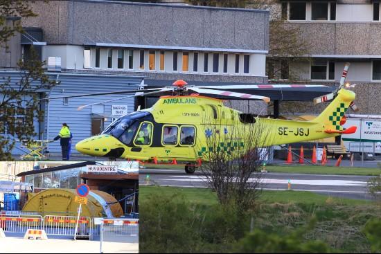 Helikopterambulans vid Skaraborgs Sjukhus