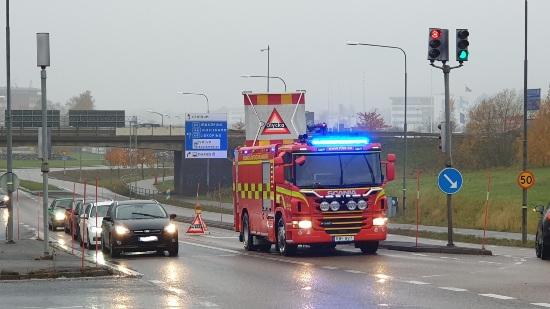 Trafikolycka väg 49
