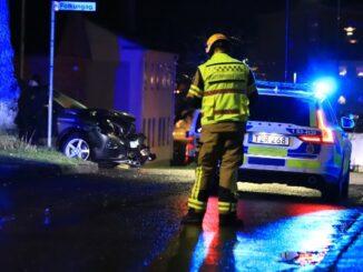 Räddningstjänstledare vid trafikolycka