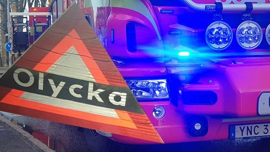 Olycka, brandbil, Skaraborgsnyheter