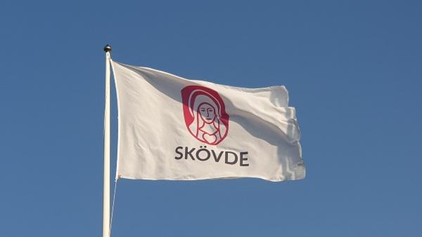 Skövde kommun flagga